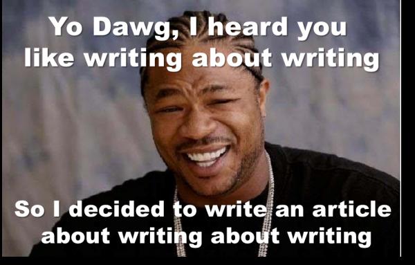 yo dawg writing