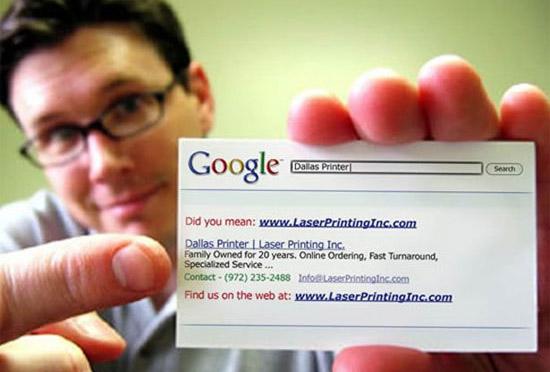 creative-google-business-card-dallas-printer