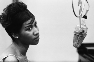 You don't want to disappoint Aretha, do you?