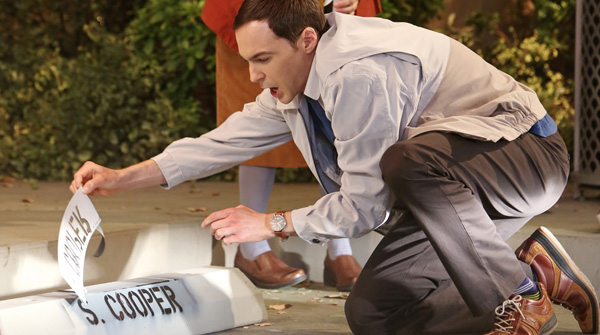 big bang theory sheldon cooper parking spot