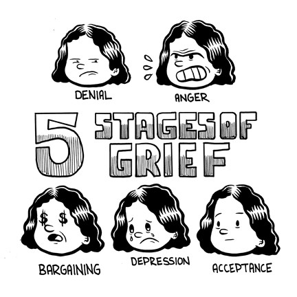 stages of grief butter