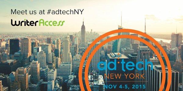 Meet us at ad:tech NY