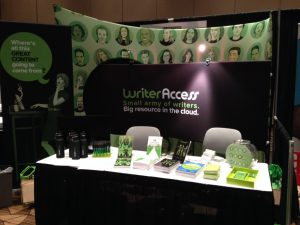 WriterAccess Booth
