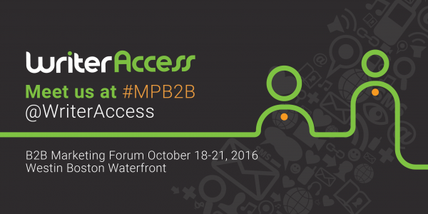 Meet Us at #MPB2B