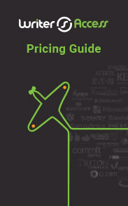 WriterAccess Software and Content Pricing Guide