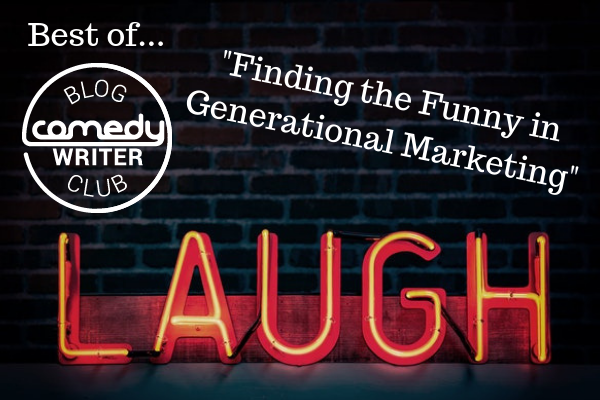 Finding Funny Generational Marketing