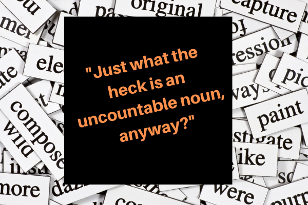 uncountable noun